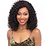 Janet Collection 100% Virgin Remy Human Hair Deep Part Lace Wig - BOHEMIAN 18