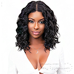 Janet Collection 100% Virgin Remy Human Hair Deep Part Lace Wig - DEEP 18