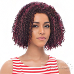 Janet Collection Synthetic Hair Half Wig - NEW EASY QUICK ANAIS