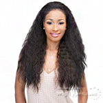 Janet Collection Synthetic Hair Half Wig - NEW EASY QUICK BIJU