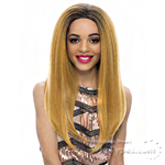 Janet Collection Synthetic Hair Half Wig - NEW EASY QUICK CELLO