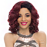 Janet Collection Synthetic Hair Half Wig - New Easy Quick Gem
