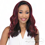 Janet Collection Synthetic Hair Half Wig - NEW EASY QUICK OCEAN