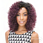 Janet Collection Synthetic Hair Half Wig - NEW EASY QUICK SELINA
