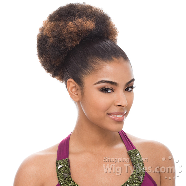 Afro Tight Curl Ponytails Synthetic Ponytail Kids