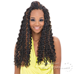 Janet Collection Noir Synthetic Braid - DEEP TWIST BRAID 24