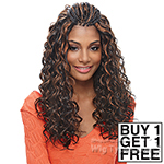 Janet Collection Synthetic Braid - FRENCH DEEP CURL (Buy 1 Get 1 FREE)