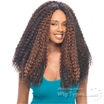 Janet Collection Noir Synthetic Braid -  BEACH CURL BRAID 20