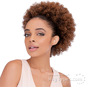 Janet Collection Noir Everytime Synthetic Ponyail - AFRO PERM L STRING