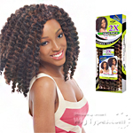 Janet Collection Noir Synthetic Braid - 2X ROD TWIST BRAID 10