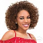Janet Collection Synthetic Hair Retro Glam-Vibe Clip In U-Type Wig - 3B MARISSA