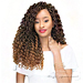 Janet Collection Synthetic Braid - 2X MAMBO CURLY BOHEMIAN LOCS 18