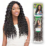Janet Collection Synthetic Braid - 2X MAMBO NATURAL COILY LOCS 18