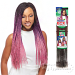 Janet Collection Synthetic Braid - Havana 3s Box Braid 24