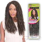 Janet Collection Mambo Open-Loop Synthetic Braid - 3X BOHEMIAN BRAID 24
