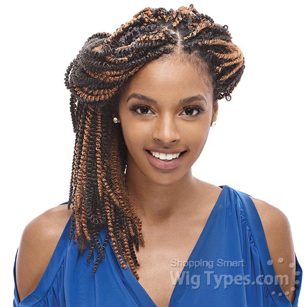 Janet Collection Noir Marley Braid Hair
