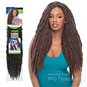 Janet Collection Synthetic Braid - Havana 2x Mambo Twist Braid 18