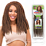 Janet Collection Synthetic Braid - SLIM MAMBO TWIST 12 (HANDMADE)