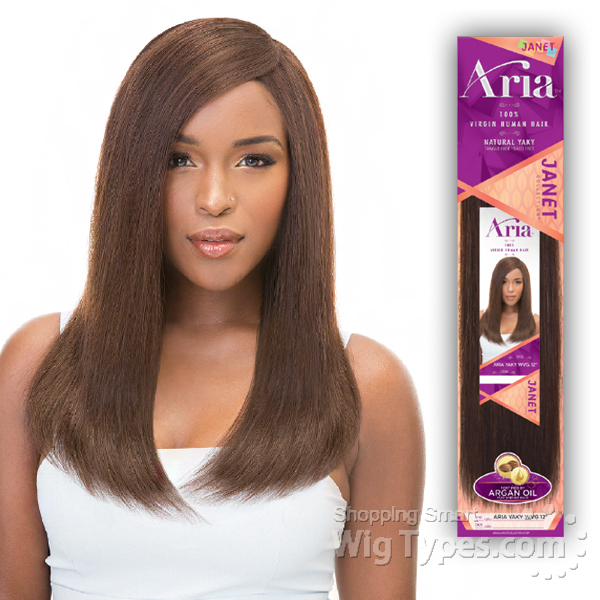 Janet Collection 100 Virgin Human Hair Weave Aria Yaky Wvg 14
