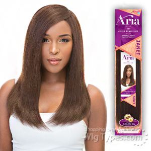 Janet Collection 100% Virgin Human Hair Weave - ARIA YAKY WVG 18