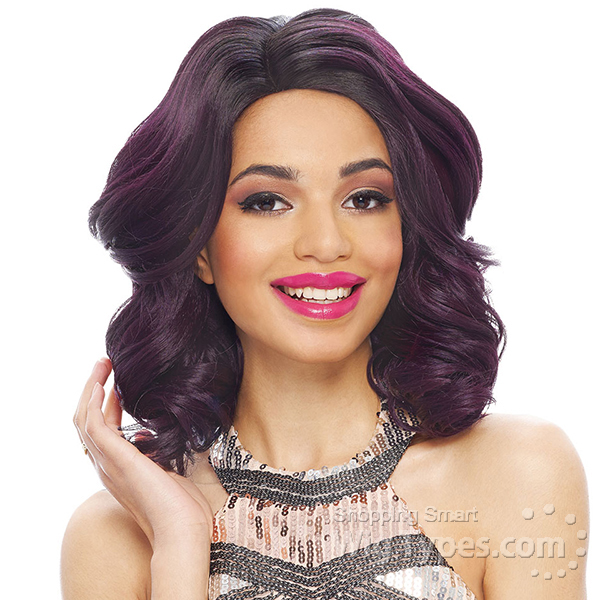 Janet Collection Synthetic Wig Kiss Part Timber