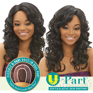 Janet Collection Synthetic U-Part Wig - JAZZ