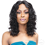 Janet Collection Luscious Wet & Wavy 100% Natural Virgin Remy Indian Hair Lace Wig - NOVA