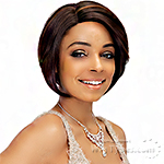 Janet Collection Synthetic Hair Linda Lace Front Wig - EMMANUEL