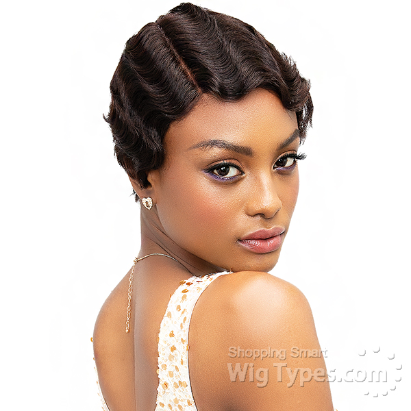 Short Style Wigs Synthetic Wig Human Hair Wig Remy Hair Wigs Invisible Part Wigs Freetress Equal Sensationnel Bump Collection Saga Remy Model Model Invisible Part Wigs Wigtypes Com