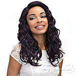 Janet Collection Synthetic Wig - LAVENDER
