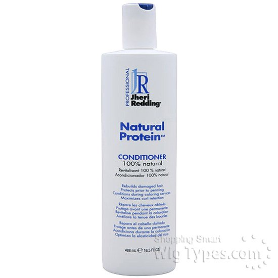 Jheri Redding Natural Protein Conditioner On Natural Hair