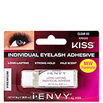I Envy by Kiss KPEG03 individual Eyelash Adhesive Strong Hold - Clear 0.21oz