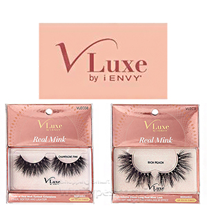 Kiss I-Envy V-Luxe VLEC Real Mink Eyelashes