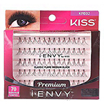 Kiss I-Envy KPE02 Individual Lashes - Classic Flare Medium 70 lashes