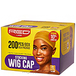 Red by Kiss HVP06 Stocking Wig Cap - 200pc Dark Beige