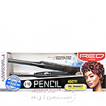 Red by Kiss Pencil Titanium Styler Flat Iron 3/10 inch FITS030