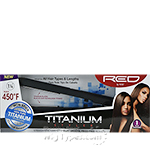 Red by Kiss Titanium Styler Flat Iron 1 1/4 Inch FITS125