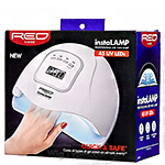 Red by Kiss UV1 InstaLamp Professional LED Gel Nail Lamp