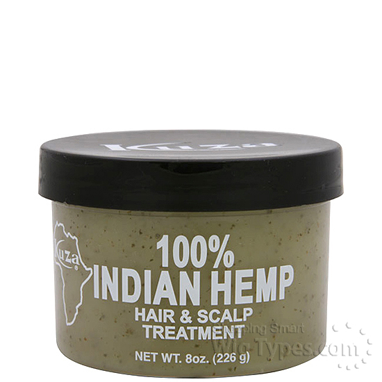 Kuza Indian Hemp Hair Amp Scalp Treatment 8oz Wigtypes Com