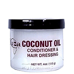 Kuza Coconut Oil Conditioner & Hair Dressing 4oz