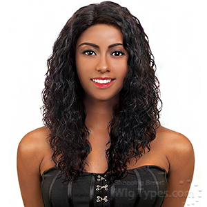 Ebin New York 100% Human Hair 360 Lace Frontal Wig - DEEP SPIRAL CURL 14