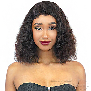Ebin New York Wet & Wavy 100% Human Hair 360 Lace Frontal Wig - DEEP WATER LONG
