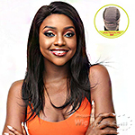 Laflare 100% Human Hair 360 Cover All Frontal Lace Wig - YAKI 18
