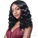 Laflare 100% Brazilian Virgin Remy Wet & Wavy Lace Front Wig - LOOSE DEEP 18
