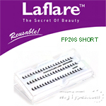 Laflare Artisanal Feather Pointed Silk Individual Lash - FP20S SHORT