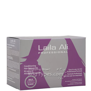 Laila Ali Professional Conditioning Hair Relaxer Kit - Mild Strength