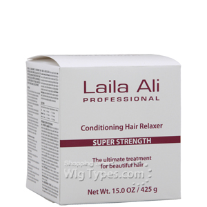 Laila Ali Professional Conditioning Hair Relaxer - Super Strength 15oz