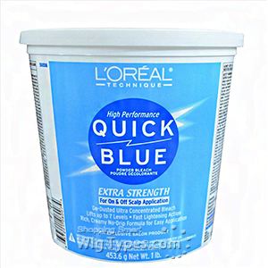 L'Oreal Technique Quick Blue Powder Bleach - Extra Strength 1lb