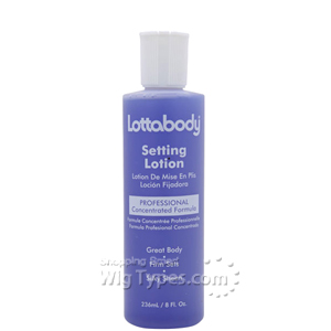 Lottabody Setting Lotion Professional Concentrated Formula 8oz
