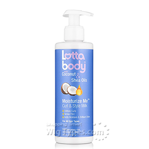 LottaBody Coconut & Shea Oils Moisturize Me Curls & Style Milk 8oz